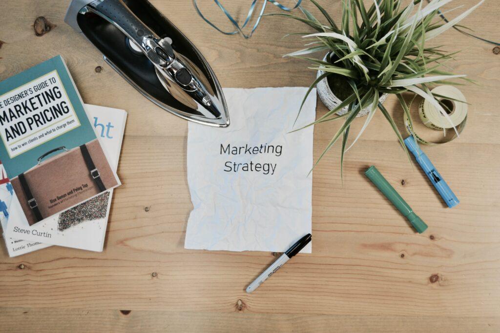 Hoja de estrategia de marketing
